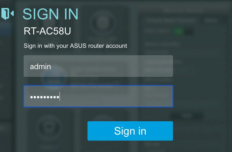 Asus VPN router setup step 3