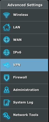 Asus VPN router setup step 4