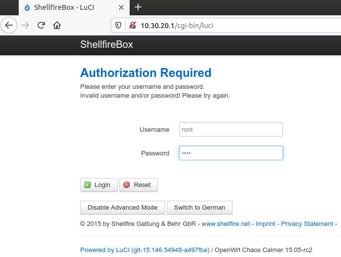 Shellfire Box login